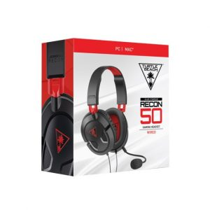 Slušalice TURTLE BEACH Recon 50, mikrofon, PC/PS4/PS5/XBOX, crne
