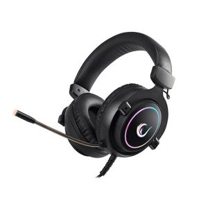 Slušalice RAMPAGE RM-K11 X-Nova, mikrofon, RGB, 7.1 Surround Sound, PC/PS4/Xbox One, crne